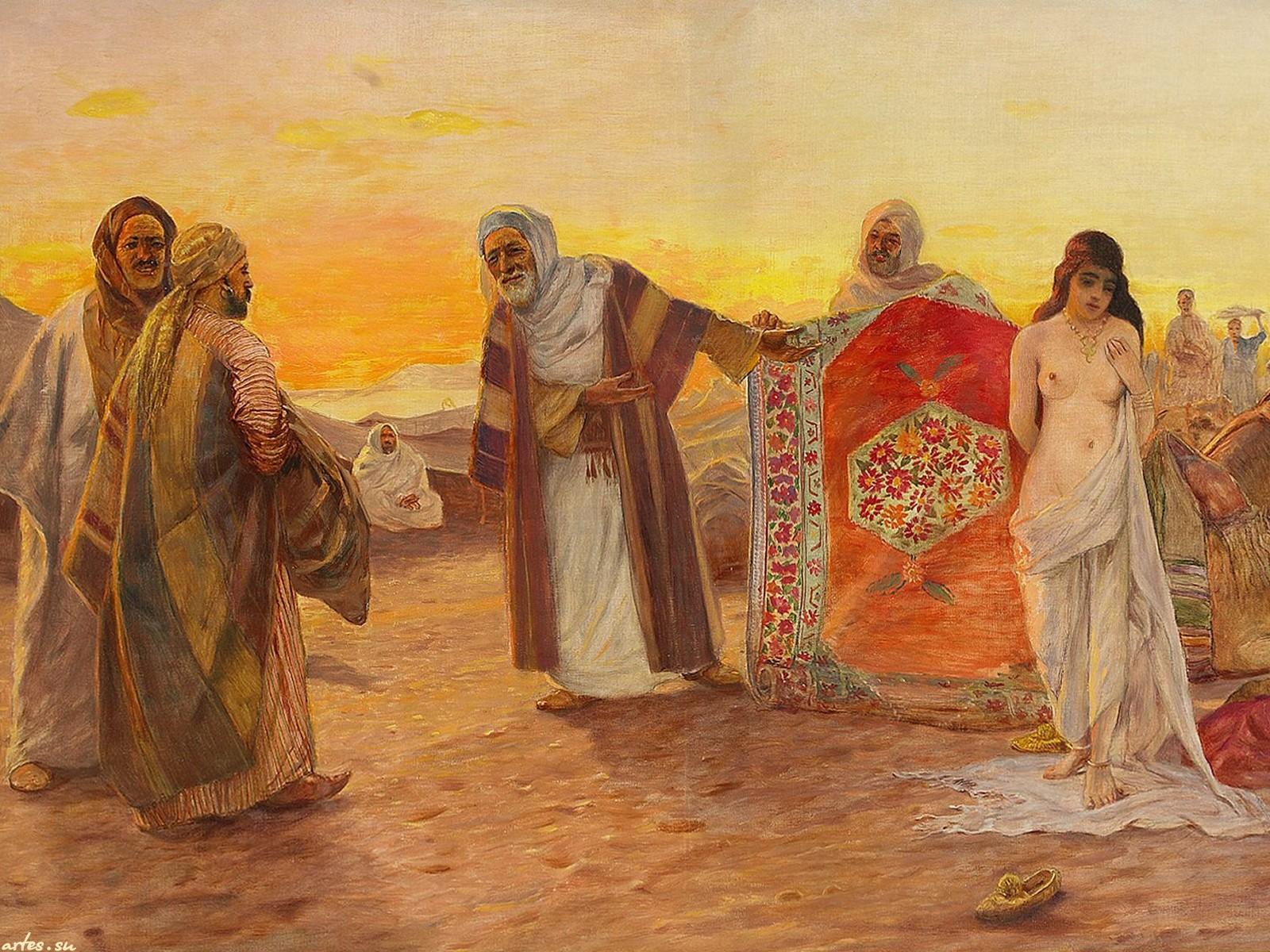 Vintage slave market harem - 3 part 6