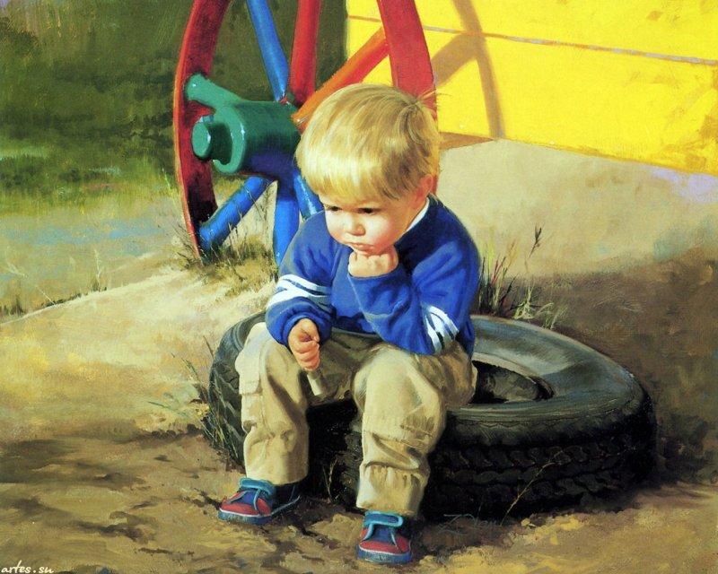 Лучик света - Дети и развод родителей