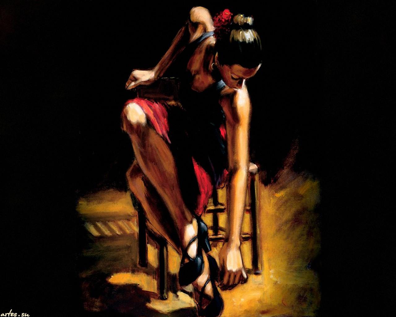 Танцовщица под юбкой 10 фотография