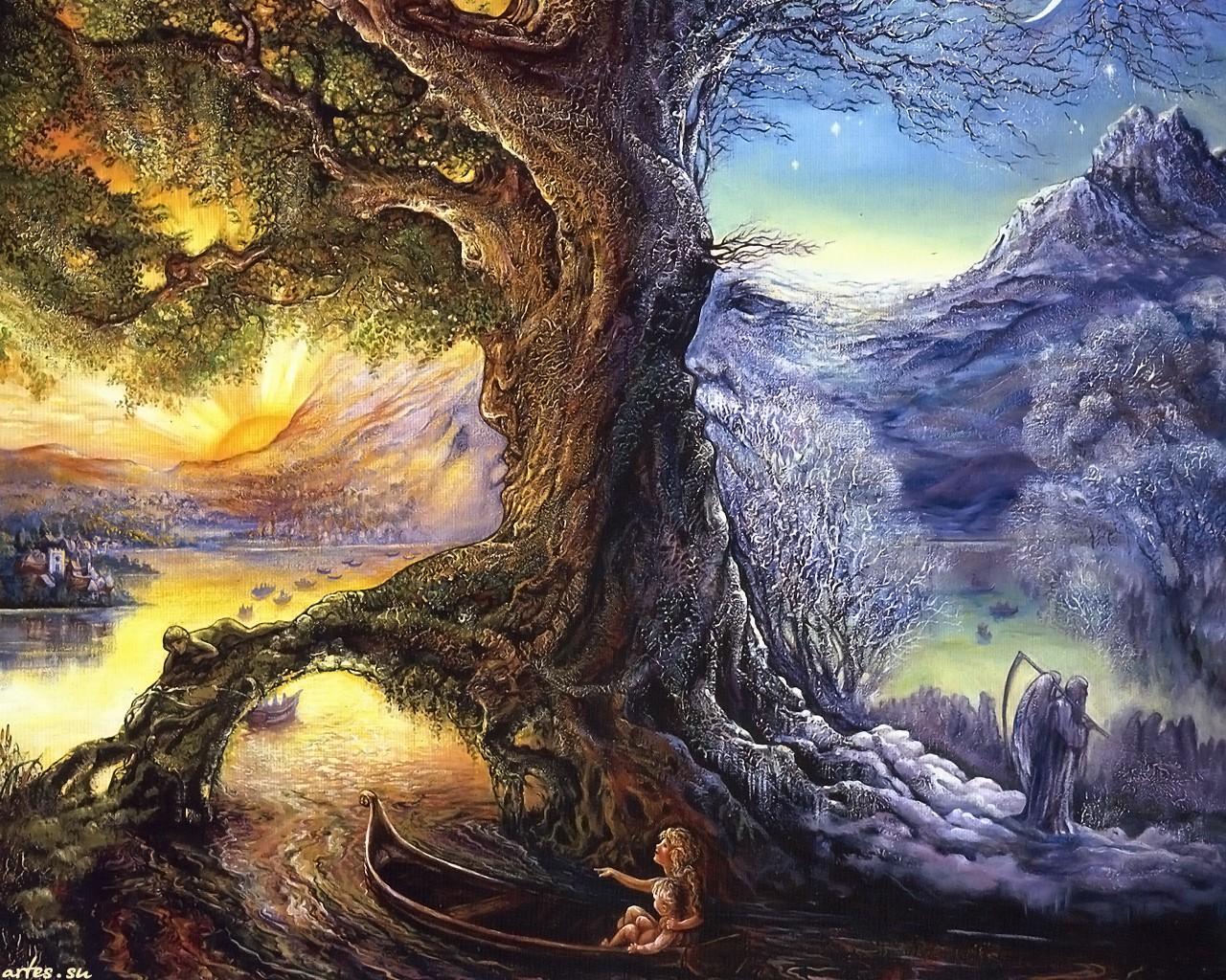 дерево с волшебными плодами