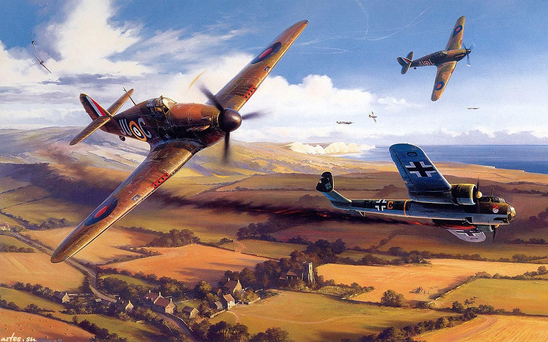 Драка за небо Самые ожесточенные воздушные сражения ХХ века