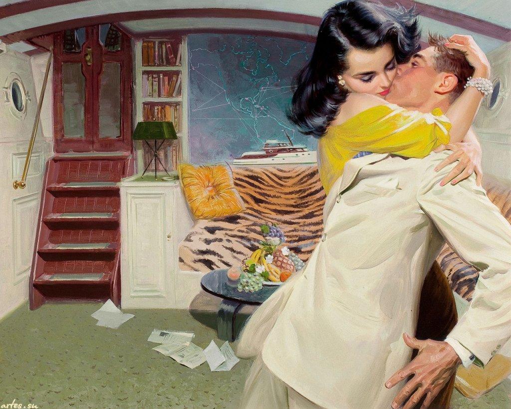 влагалища растянутыми ретро любовь в постели вскользь