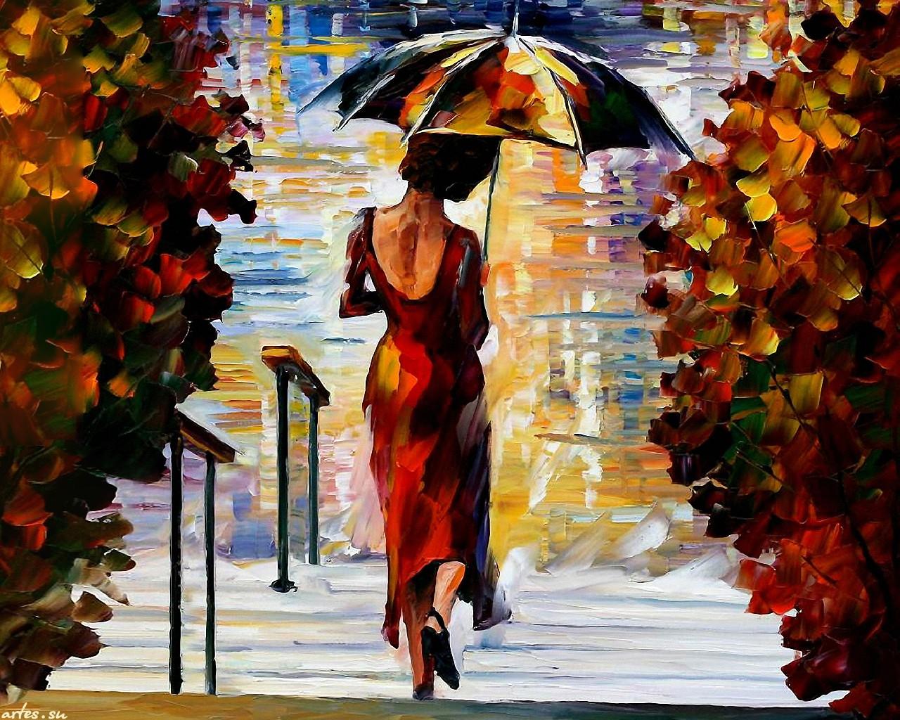 Фото золотой женский дождь 3 фотография