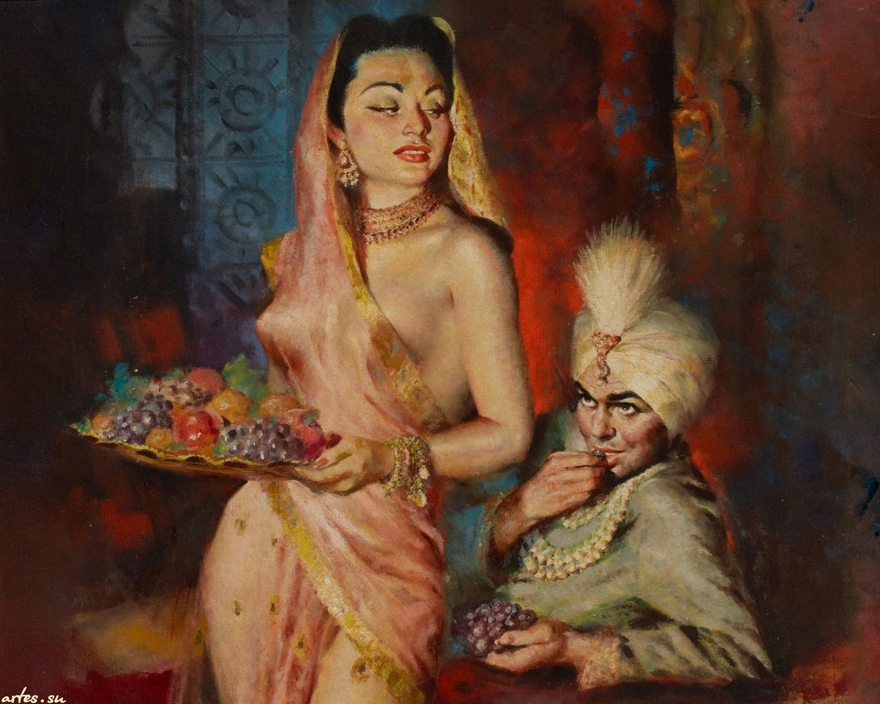 Harem slave sexy image