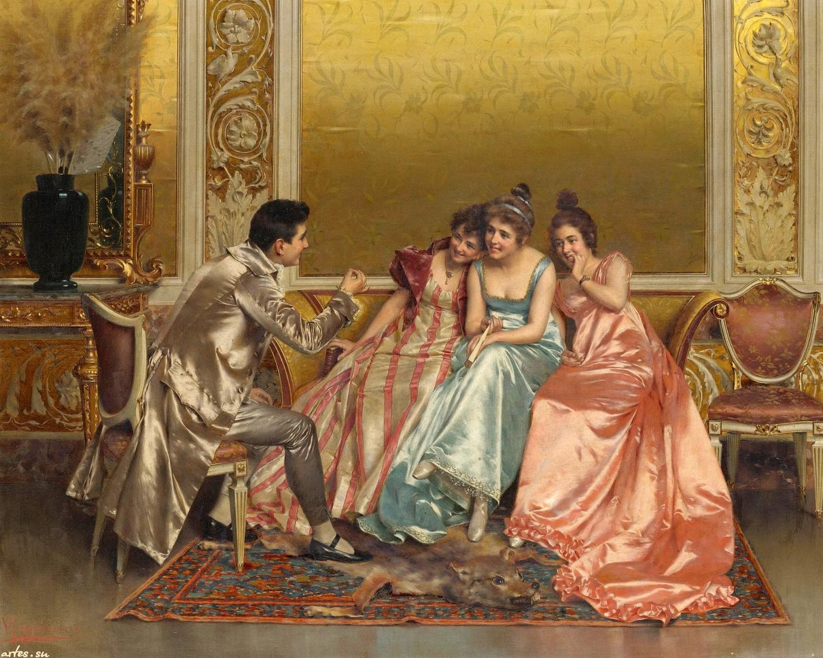 Итальянский художник vittorio reggianini 1858 1938
