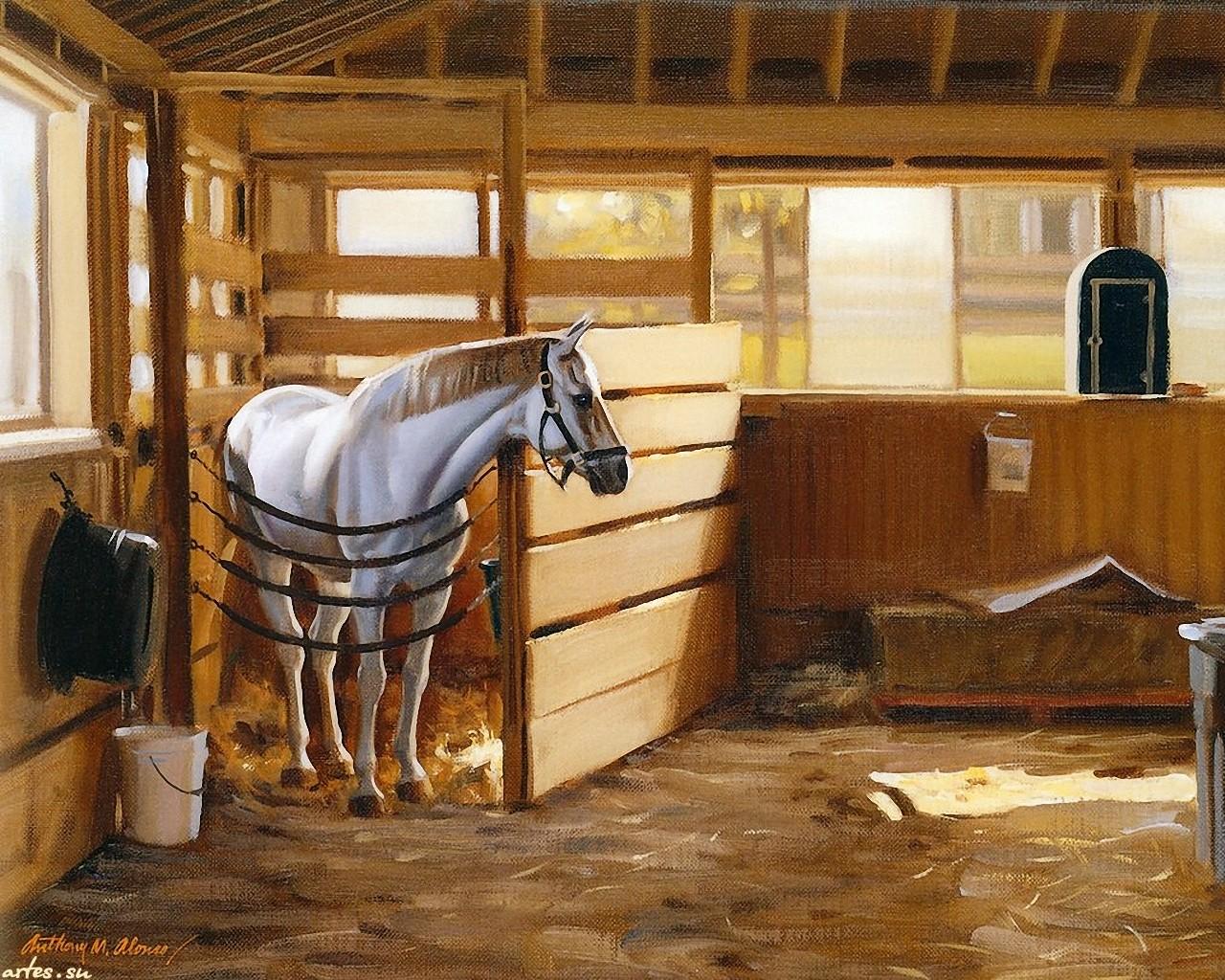 Как сделать конюшню для лошадей своими руками 69