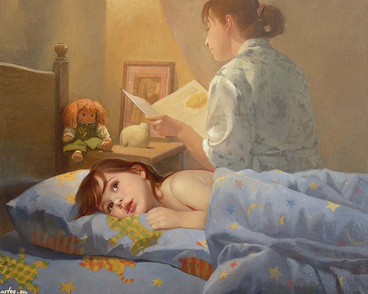 Рассказы на кроватке 22 фотография