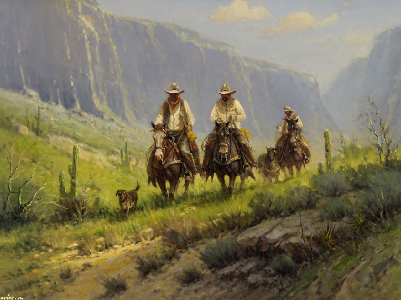 an analysis of the father of western given the myth of the rugged american cowboy to american litera The log of a cowboy and the true american links to romantic images of the american west and the rugged cowboys who father head to texas for a cattle.
