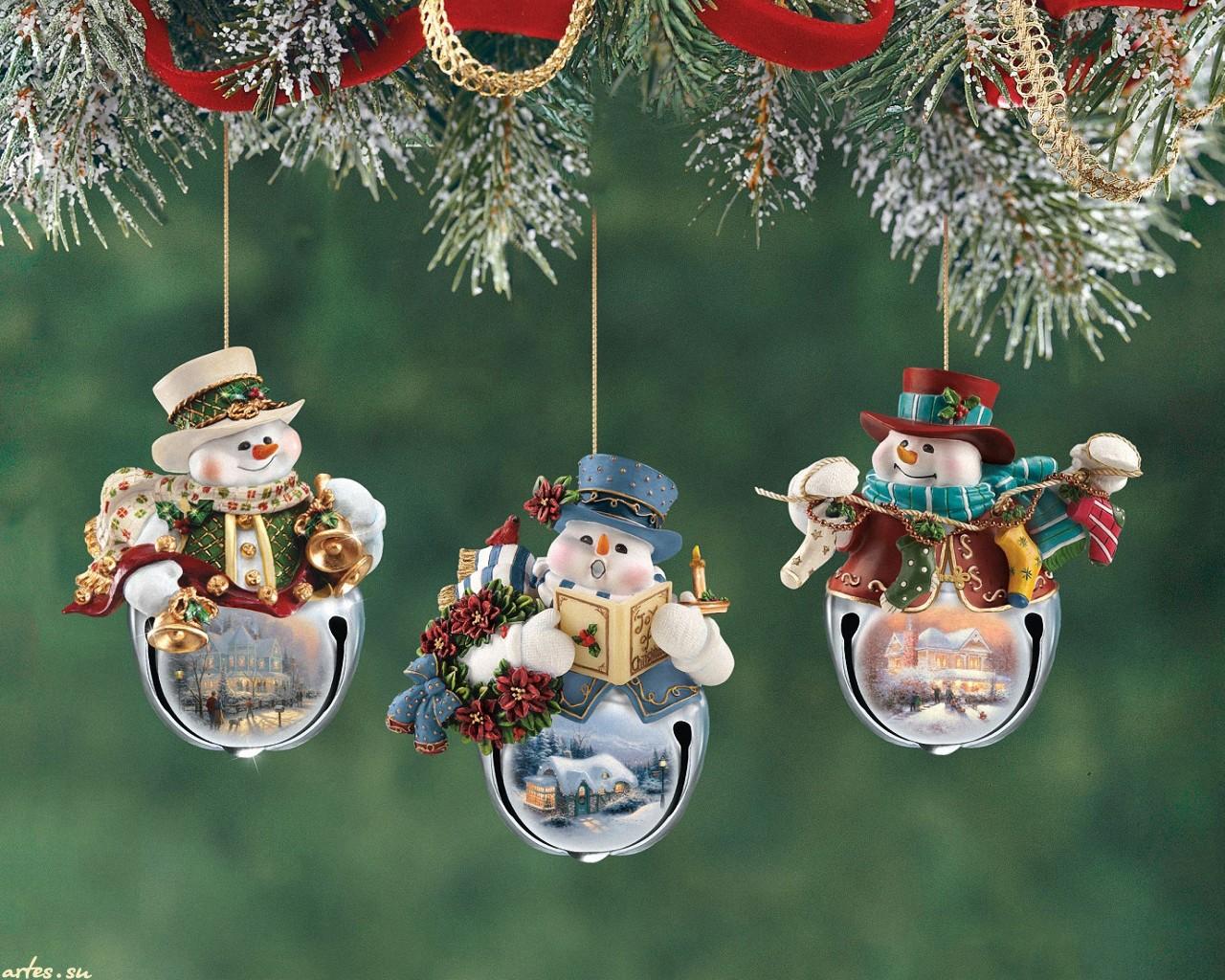 Красивые игрушки на елку на новый год