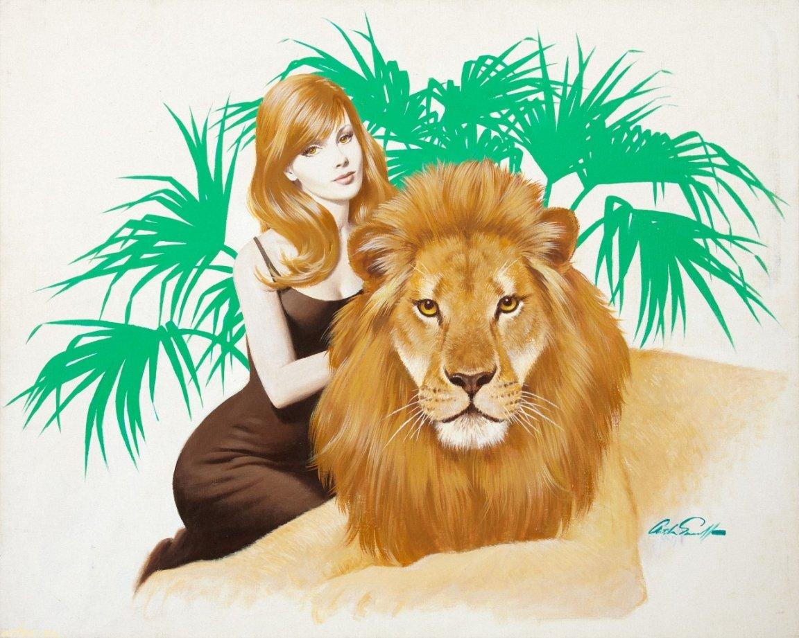 Девушки для льва фото