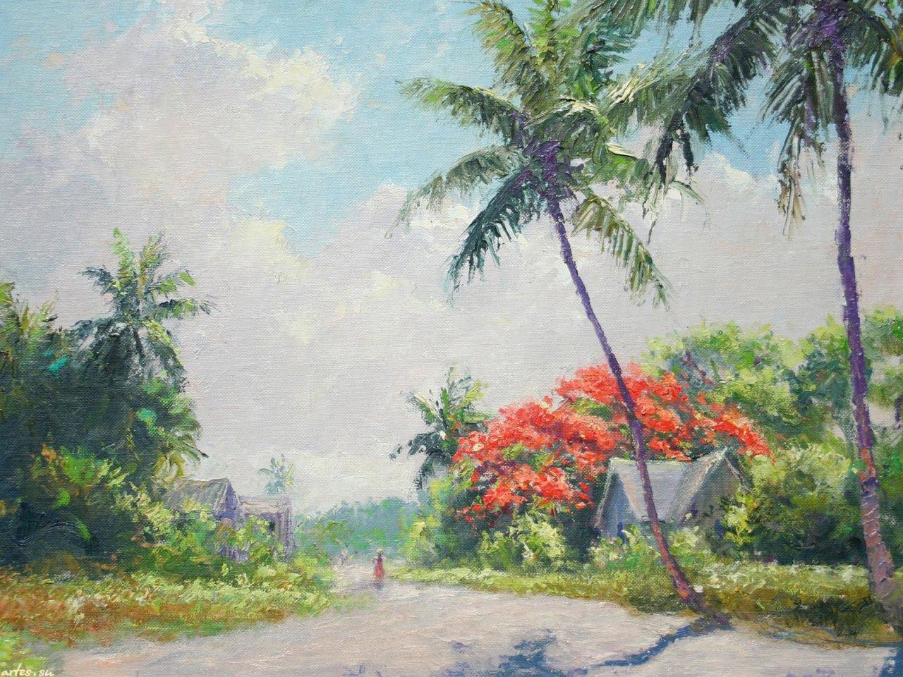 Albert Ernest Backus. Тропическая природа