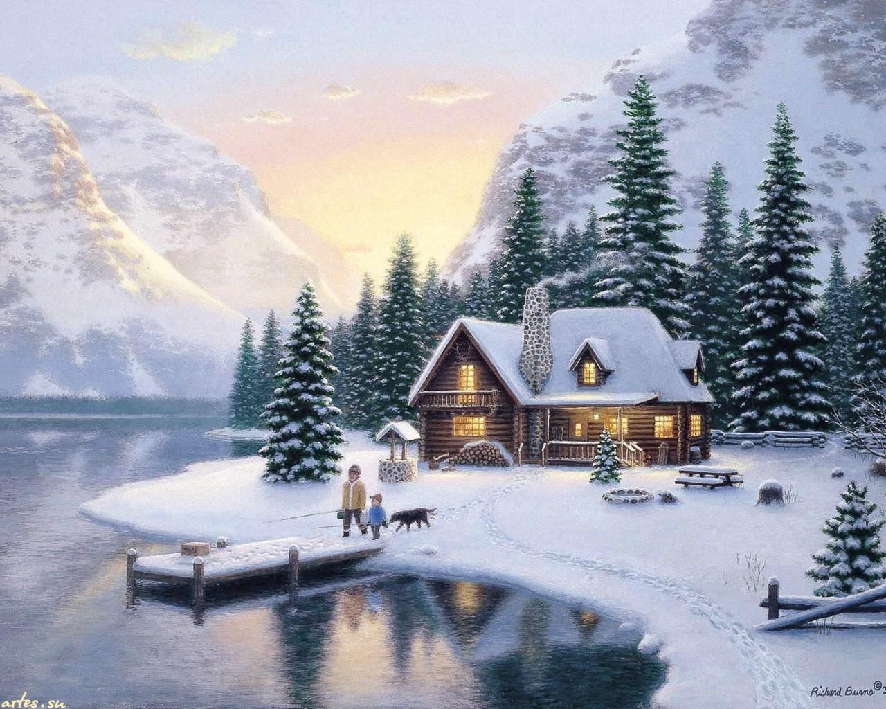 Рождество в горах