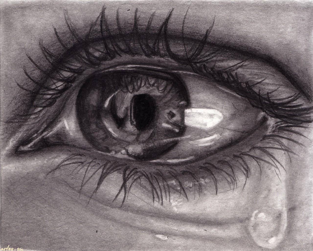 ... обои Глаза, слезы на рабочий стол 1280x1024: artes.su/wallpapers/2234/4.html