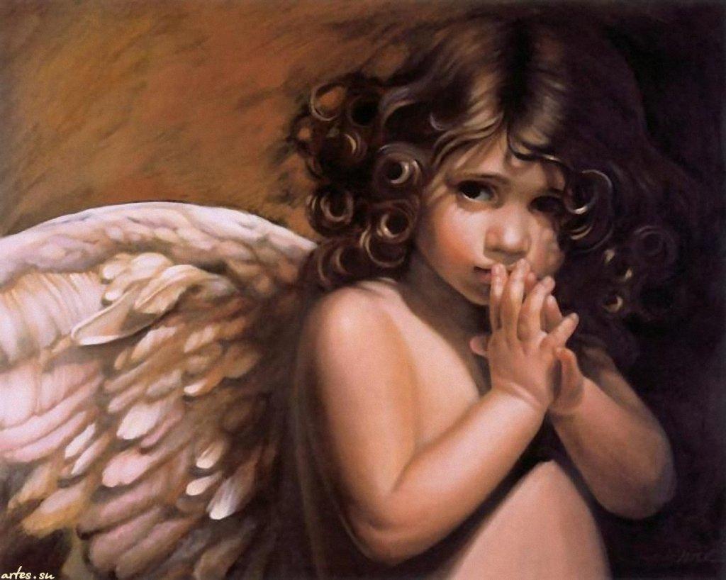 Обои ангелы