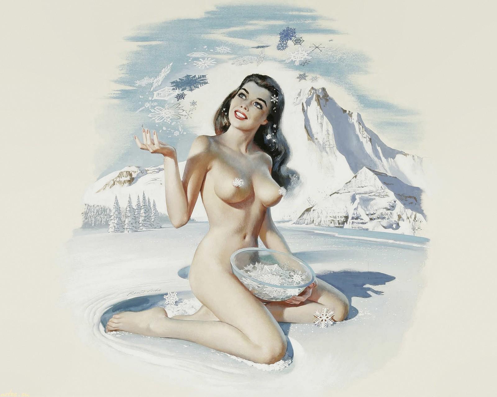 Картинки девицы зимы