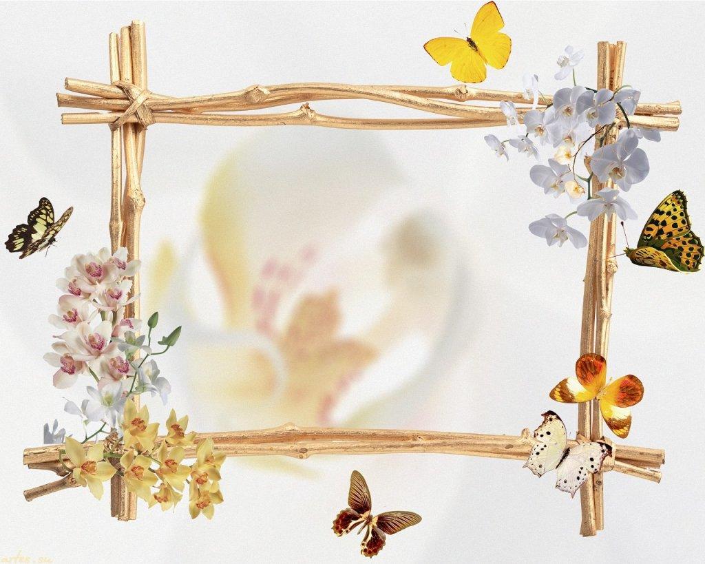 Рамки для поздравления весна